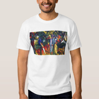 zoological gardens by August Macke T-Shirt