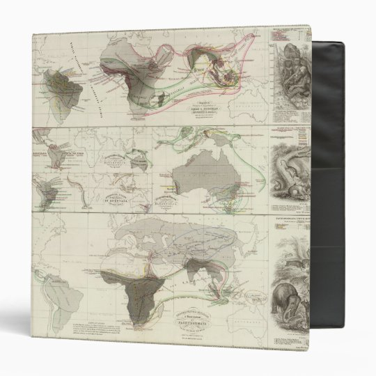 Zoological geography binder