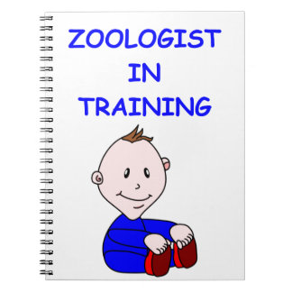 ZOOLOGISt baby Spiral Note Book