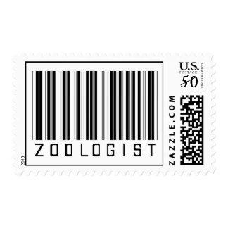 Zoologist Bar Code Postage