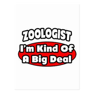 Zoologist...Big Deal Postcards