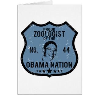 Zoologist Obama Nation Card