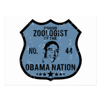 Zoologist Obama Nation Postcard