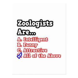 Zoologist Quiz...Joke Postcard