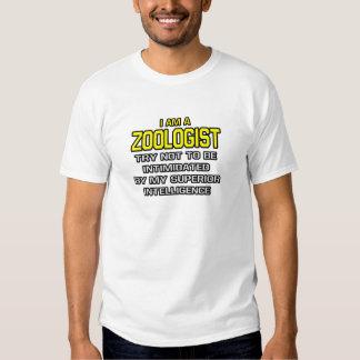 Zoologist...Superior Intelligence Tee Shirts