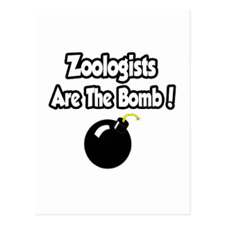 Zoologists Are The Bomb! Postcards