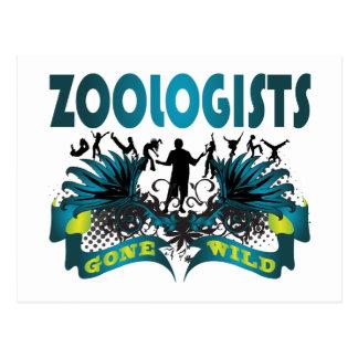 Zoologists Gone Wild Postcard