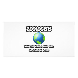 Zoologists...Making the World a Better Place Photo Card Template