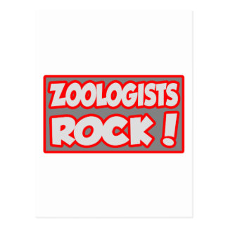 Zoologists Rock! Post Card