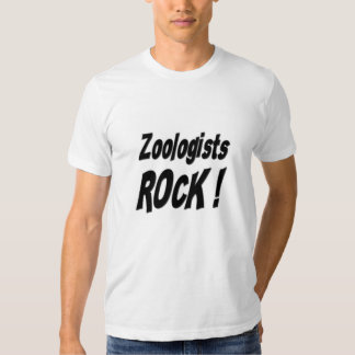 Zoologists Rock! T-shirt