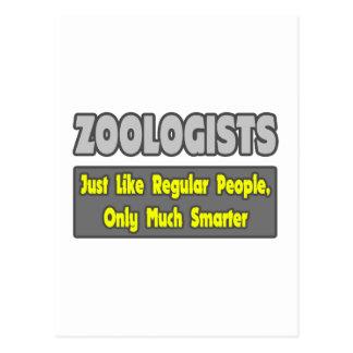 Zoologists...Smarter Postcard