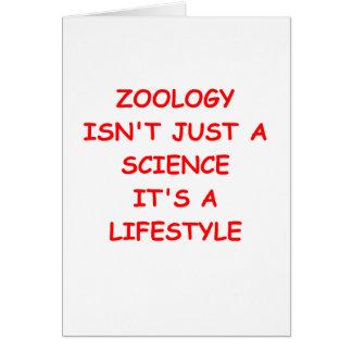 zoology card