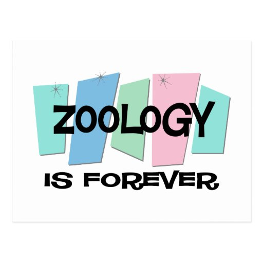 Zoology Is Forever Post Cards