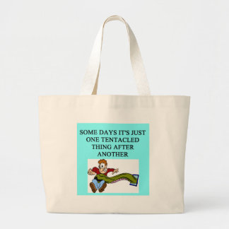 zoology / oceanography design. tote bag