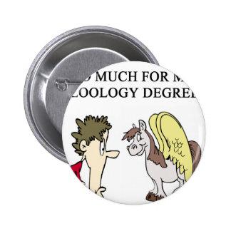 zoology zoologist design pinback button