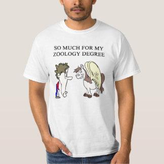 zoology zoologist design shirt