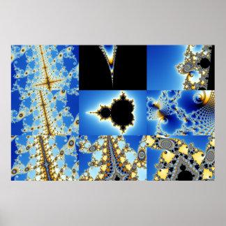 Zoom03 compuesto 8 +Cajas azules Posters