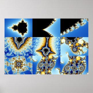 Zoom04 compuesto 8 +Cajas azules Posters