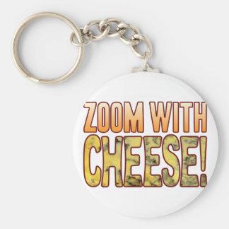 Zoom Blue Cheese Keychain