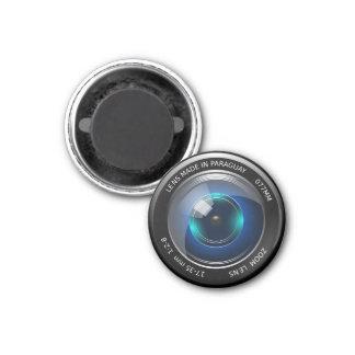 Zoom de la cámara imán redondo 3 cm