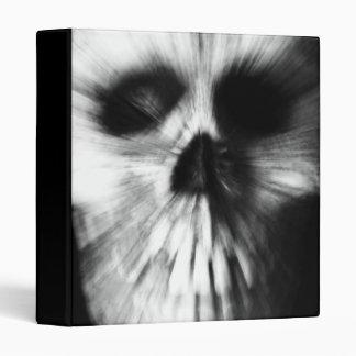 "Zoom Effect Skull 1"" Photo Album 3 Ring Binders"