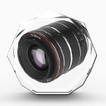 "Zoom lens acrylic award<br><div class=""desc"">Zoom lens isolated on white background</div>"