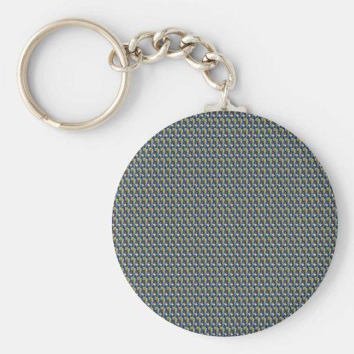 ZOOM view Elegant TEXTURE DIY Template add TXT IMG Keychain