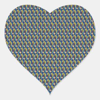 ZOOM view Elegant TEXTURE DIY Template add TXT IMG Heart Sticker