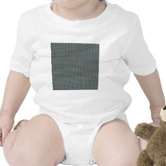 ZOOM view Elegant TEXTURE DIY Template add TXT IMG Baby Bodysuits