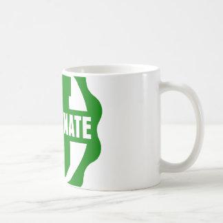 """Zoomed """"Indoctrinate U"""" Logo Mug"""