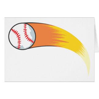 Zooming Baseball Card