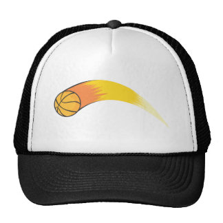 Zooming Basketball Trucker Hat