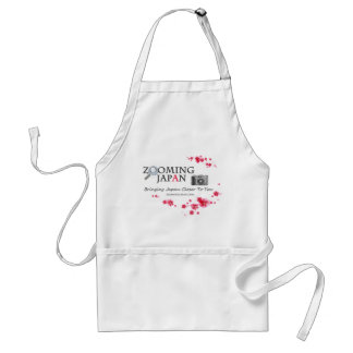 Zooming Japan Logo for Japan Lovers Adult Apron