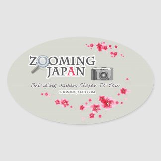 Zooming Japan Logo for Japan Lovers Stickers