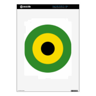 Zooming on Jamaica Decals For The iPad 2