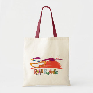 Zooming Roadrunner Tote Bag
