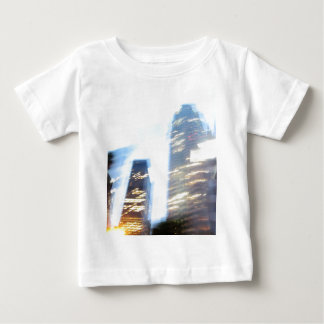 Zooming through Downtown LA at Night Baby T-Shirt