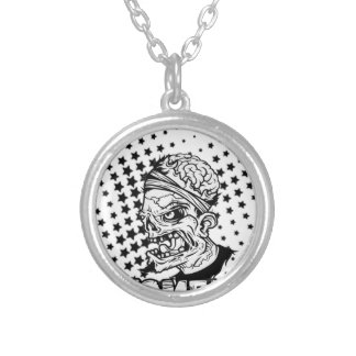 zoomm silver plated necklace