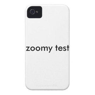 zoomy test iPhone 4 cover
