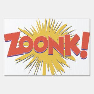 Zoonk Bang Explosion! Signs