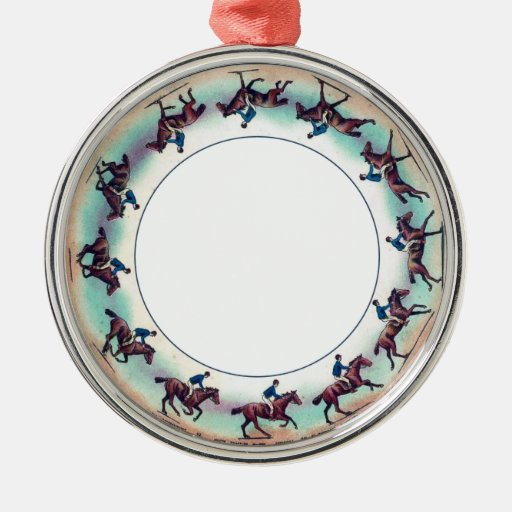 Zoopraxiscope Horse Galloping Christmas Tree Ornament