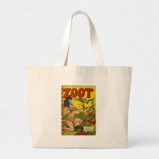 Zoot comics jumbo tote bag