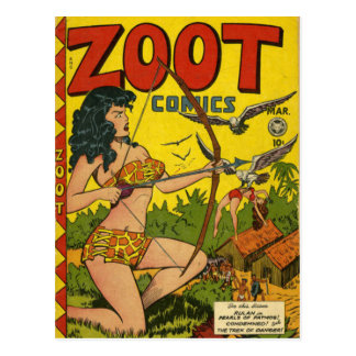 Zoot comics postcard
