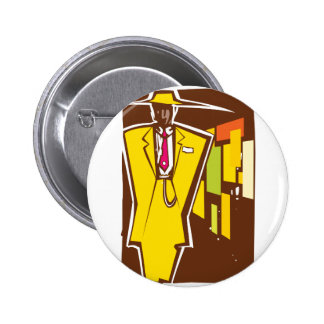 Zoot Suit Night Button