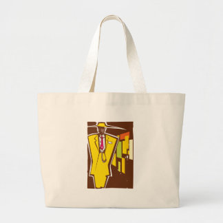 Zoot Suit Night Large Tote Bag