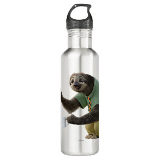 Zootopia | A Working Sloth Stainless Steel Water Bottle