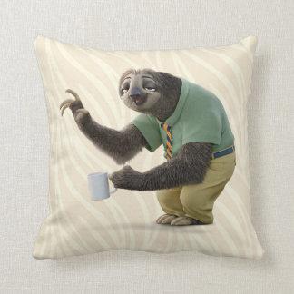 Zootopia | A Working Sloth Throw Pillow