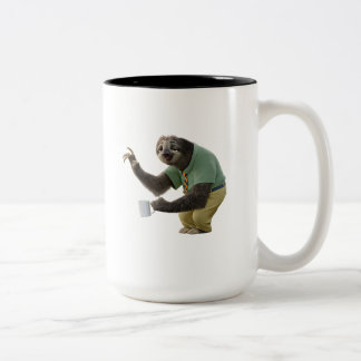 Zootopia | A Working Sloth Two-Tone Coffee Mug