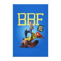 Zootopia | Bunny Best Friend Canvas Print