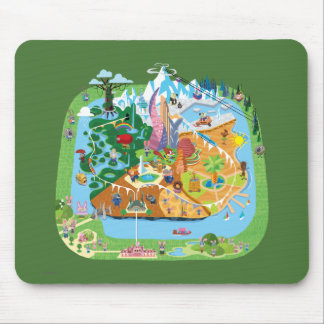 Zootopia | City Map Mouse Pad